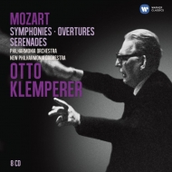 Symphonies, Overtures, Serenades : Klemperer / Philharmonia, New Philharmonia (8CD)