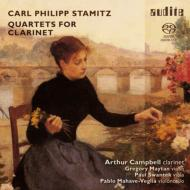 Clarinet Quartets: Campbell(Cl)Maytan(Vn)Swantek(Va)Mahave-veglia(Vc)