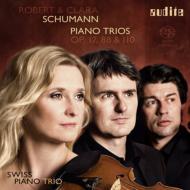シューマン:ピアノ三重奏第3番、幻想小曲集、クララ・シューマン:ピアノ三重奏曲 スイス・ピアノ・トリオ