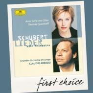 管弦楽伴奏編曲による歌曲集 オッター、クヴァストホフ、アバド&ヨーロッパ室内管