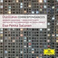 『コレスポンダンス』、チェロ協奏曲『遥かなる遠い国へ』、『時の影』 サロネン&フランス放送フィル、ハンニガン、カルットゥネン