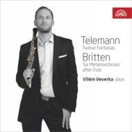 Telemann 12 Fantasies for Oboe Solo, Britten 6 Metamorphoses : V.Veverka