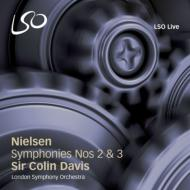 ニールセン(1865-1931)/Sym 2 3 : C.davis / Lso L.hall(S) Farnsworth(Br) (Hyb)