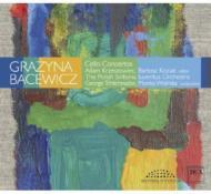 Cello Concerto, 1, 2, : Krzeszowiec Koziak(Vc)Tchitchinadze / Wolinska / Sinfonia Iuventus