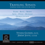 Travering Sonata -European Music for Flute & Guitar : Guzman(Fl)Jouve(G)