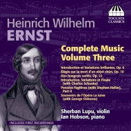 Complete Music For Violin & Piano Vol.3: S.lupu(Vn)Hobson(P)