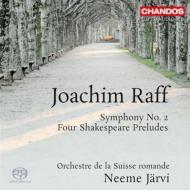 交響曲第2番、シェイクスピアの劇のための4つの前奏曲 ヤルヴィ&スイス・ロマンド管弦楽団