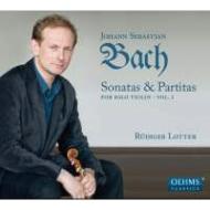 バッハ(1685-1750)/Sonatas & Partitas For Solo Violin Vol.1: Lotter