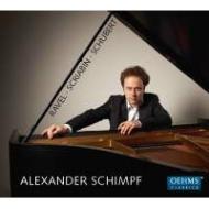 シューベルト:ピアノ・ソナタ第21番、ラヴェル:クープランの墓、スクリャービン:5つの前奏曲 アレクサンダー・シンプ