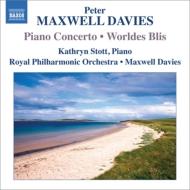 ピアノ協奏曲、世俗的な至福 ストット、マクスウェル・デイヴィス&ロイヤル・フィル