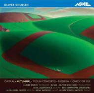 Autumnal, Violin Concerto, Etc: Knussen / Bbc So Josefowicz(Vn)Etc