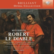 『悪魔のロベール』全曲 オーレン&サレルノ・ヴェルディ劇場、イーメル、チオーフィ、他(2012 ステレオ)(3CD)