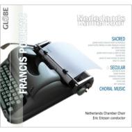 合唱作品集 エリクソン&オランダ室内合唱団(2CD)
