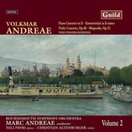 ピアノ協奏曲、ヴァイオリン協奏曲、コンツェルトシュテュック、ラプソディ パヴリ、アルテンブルガー、M.アンドレーエ&ボーンマス響