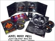 Axel Rudi Pell/Live On Fire (+dvd)(Ltd)