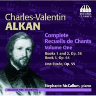 Complete Recueils De Chants Vol.1: Mccallum(P)