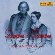 シューマン:ピアノ・ソナタ第1番、第3番、C.シューマン:幽霊のバレエ、夜曲 ノーシコワ