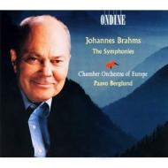 Comp.symphonies: Berglund / Coe / Brahms