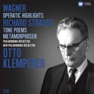 ワーグナー&R.シュトラウス作品集 クレンペラー(5CD)