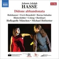 歌劇『捨てられたディドーネ』全曲 ホフステッター&ホーフカペレ・ミュンヘン、ホルツハウザー、バルナ=サバドゥス、他(2011 ステレオ)(3CD)