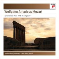 モーツァルト(1756-1791)/Sym 40 41 : Giulini / Bpo