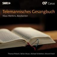 テレマン(1681-1767)/Gesangbuch: Mertens(B-br) Frisch(B-s) Fritzsh(Gamb) Maass(Lute) Zchonheit(Cemb Org)