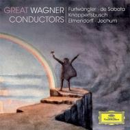 ワーグナー(1813-1883)/Great Wagner Conductors: Furtwangler De Sabata Knappertsbusch Elmendorff Jochum
