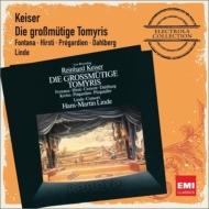 歌劇『トミリスの寛大さ』全曲 リンデ&リンデ・コンソート、プレガルディエン、フォンタナ、他(1988 ステレオ)(2CD)