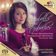 コルンゴルト:ヴァイオリン協奏曲、ブルッフ:ヴァイオリン協奏曲第1番、ショーソン:詩曲 シュタインバッハー、L.フォスター&グルベンキアン管