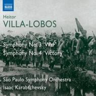 交響曲第3番『戦争』、第4番『勝利』 カラブチェフスキー&サンパウロ交響楽団