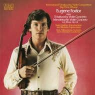 Tchaikovsky Violin Concerto : Fodor(Vn)Leinsdorf / New Philharmonia +Mendelssohn Violin Concerto : Maag / Saint-Saens