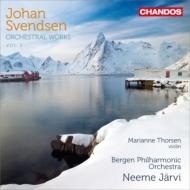 管弦楽作品集第3集〜交響曲第1番、ヴァイオリン協奏曲、他 ネーメ・ヤルヴィ&ベルゲン・フィル、トゥーシェン