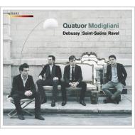 Debussy String Quartet, Ravel String Quartet, Saint-Saens String Quartet No.1 : Modigliani Quartet (2CD)