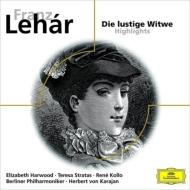 Die Lustige Witwe(Hlts): Karajan / Bpo Stratas Harwood Kollo