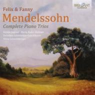 メンデルスゾーン:ピアノ三重奏曲集、ファニー・メンデルスゾーン:ピアノ三重奏曲 ユーゴヴィック、バーダー=クビツェク、他(2CD)