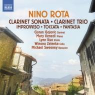 クラリネット・ソナタ、クラリネット三重奏曲、即興曲、ピアノのための幻想曲、他 ゴジェヴィク、M.ケネディ、クオ・リン、他