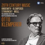 20世紀音楽、サウンド・バイオグラフィ クレンペラー(4CD)