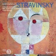ピアノと管弦楽のための作品全集 オズボーン、ヴォルコフ&BBCスコティッシュ交響楽団