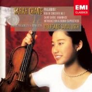 パガニーニ:ヴァイオリン協奏曲第1番、サン=サーンス:ハバネラ、他 サラ・チャン、サヴァリッシュ&フィラデルフィア管