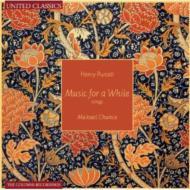 パーセル(1659-1695)/Music For A While: M.chance(Ct) Boothby(Gamb) M.cole(Cemb) N.north(Theorbo)