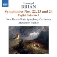 交響曲第22番、第23番、第24番、イギリス組曲第1番 A.ウォーカー&新ロシア国立響