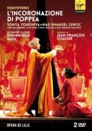 『ポッペアの戴冠』全曲 シヴァディエ演出、アイム&ル・コンセール・ダストレ、ヨンチェヴァ、チェンチッチ、他(2012 ステレオ)(2DVD)