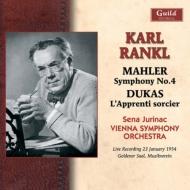 マーラー:交響曲第4番、デュカス:魔法使いの弟子 ランクル&ウィーン響、ユリナッチ