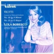ヴァイオリン協奏曲第22番、第23番 ボベスコ、レーデル&ラインラント=プファルツ州立フィル