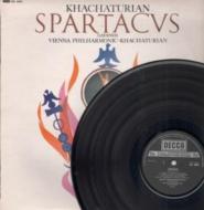 スパルタカス、ガイーヌ:アラム・ハチャトゥリアン指揮&ウィーン・フィルハーモニー管弦楽団 (180グラム重量盤レコード/Speakers Corner)