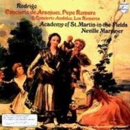 アランフェス協奏曲、アンダルシア協奏曲 ペペ・ロメロ、ロス・ロメロス、マリナー&アカデミー室内管