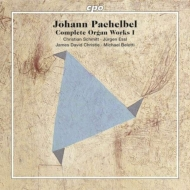 パッヘルベル(1653-1706)/Complete Organ Works Vol.1: J.d.christie C.schmitt J.essl Belotti (Hyb)