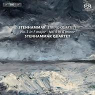 弦楽四重奏曲第3番、第4番、『ロドレッシの歌』よりエレジーと間奏曲 ステンハンマル四重奏団