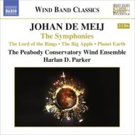 交響曲第1番『指輪物語』、第2番『ビッグアップル』、第3番『プラネット・アース』 ピーポディ音楽院ウィンド・アンサンブル(2CD)