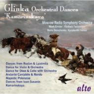 Orch.dances-kamarinskaya, Etc: Ermler / Fedoseyev / Moscow Rso Etc